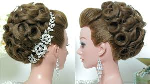 Wedding Bridal Hairstyle Bridal Hairstyle Wedding Updo For Long Hair Tutorial Youtube 5824 by stevesalt.us