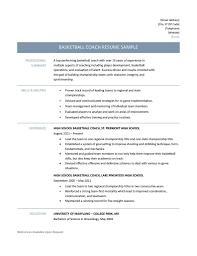 Template Coaching Resume Templates Free Krida Info High School