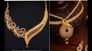South Indian Jewellery Latest Designs Latest Designer Gold Necklace Collection Latest South Indian Jewellery