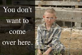 the boy in the striped pajamas home facebook image contain 1 person text