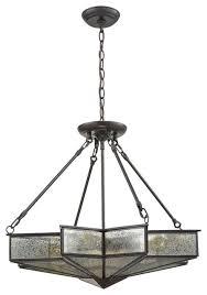 elk lighting decostar 4 light chandelier oil rubbed bronze