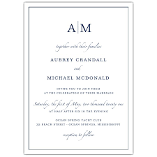 Invitations Formal Formal Frame Color Choice Wedding Invitations