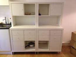 Kitchen Storage Furniture Ikea Expedit To Kitchen Storage And Work Top Ikea Hackers Ikea Hackers