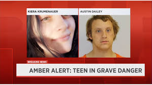 An amber alert (also amber alert) or a child abduction emergency alert is a message distributed by a child abduction alert system to ask the public for help in finding abducted children. Amber Alert Canceled Missing 15 Year Old From Baraboo Safe
