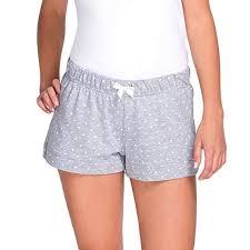 Womens Patterned Shorts Custom Babella 4848 Women's Patterned Pyjama Shorts With Polka Dots Grey