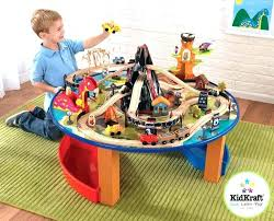 thomas the train wooden table train thomas tank engine wooden train set play table