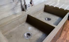 Concrete Kitchen Floor Mode Concrete Modern Contemporary Concrete Kitchen With Waterfall