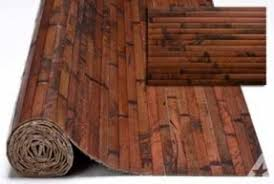 Bamboo panels for outdoors