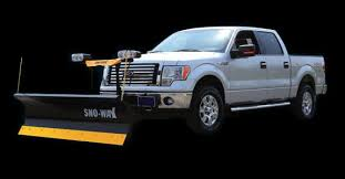 Best Snow Plow for a ½ Ton Pickup - Sno-Way Intl.