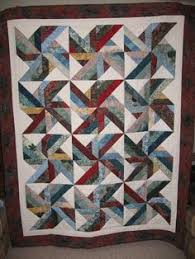 Trade Winds Quilt. Free Pattern at www.hoffmanfabrics.com.   Love ... & This quilt pattern is called Trade Winds. It is made with a jelly roll and Adamdwight.com