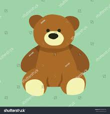 Teddy Bear Design Cute Bear Design Teddy Bear Cartoon Stock Vector Royalty