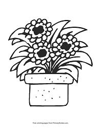 Small Picture Summer Coloring Page Flower Pot PrimaryGames Play Free Online