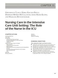 critical care study guide critical care study guide critical care nurse job description responsibilities