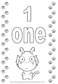 Coloring Pages Number 1 Encourage 10 Numbers 0 Skywarn Info Intended