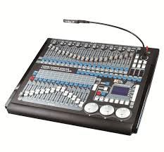 disco stage midi dmx controller dmx 512 controller programming channel command wing