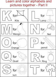 Coloring Letters For Kids Alphabet Coloring Pages Preschool Good ...