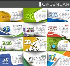 table calendar template free download 2016 desk calendar template vectors set 13 free download