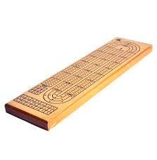 sentinel 3 track crib board 38cm large wooden cribbage board