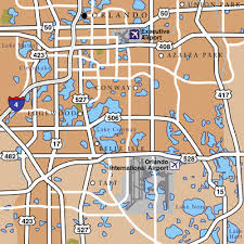 orlando maps maps to get to and from orlando mco airport Map Of Orlando Area orlando area map map of orlando area zip codes