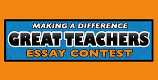 teachers education wvia great teachers essay contest