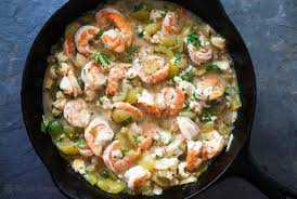 Baked Shrimp with Tomatillos Recipe ...