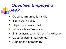 Good Qualifications For A Job Good Skills For Jobs Magdalene Project Org