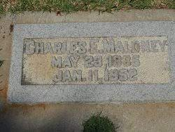 Charles Edwin Maloney (1885-1952) - Find A Grave Memorial