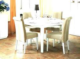 modern round wood dining room tables chairs set kitchen table image of