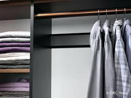 wall mounted clothes hanger rod closet shelf with wooden pole bedroom pull down mount