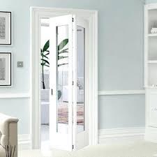 interior bifold doors shaker glazed white primed door interior bifold doors with stained glass