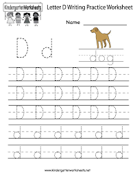 Kindergarten Handwriting Worksheets Free Printable Worksheets for ...