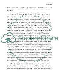 binge eating disorder research paper example topics and well  binge eating disorder essay example