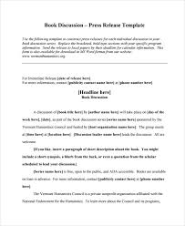 Sample Press Release For Book Book Announcement Press Release Sample Under Fontanacountryinn Com