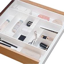 Cosmetic Drawer Organizers and Trays