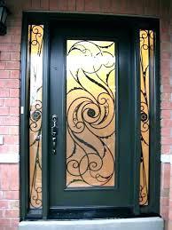 iron door design single front designs exterior doors wrought for houses in kerala wrough