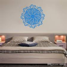 Small Picture Yoga Mandala Om Indian Buddha Symbol Mehndi Wall Decal Living Room