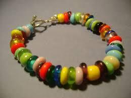 Children's Bracelet Fits a 4-11 year old Bright by BluJeanBeads, $12.00 |  Beaded bracelets, Everyday jewelry, Bracelets