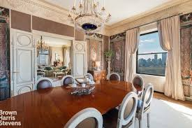 another look at the dining room s table and chairs set along with a chandelier and stunning