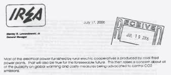 What Is An Internal Memo 2006 Irea Internal Memo On Carbon Taxes And Climate Alarmism