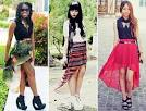 Hi low skirts outfits