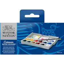 Cotman Water Colours Sketchers Pocket Box Winsor Newton