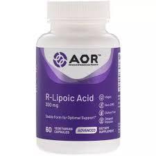 <b>Advanced</b> Orthomolecular Research Alpha Lipoic Acid R-Lipoic