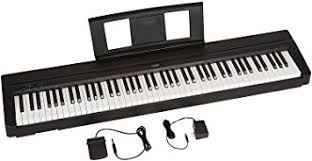 yamaha 88 weighted keyboard. yamaha p71 88-key weighted action digital piano with sustain pedal and power supply ( 88 keyboard 5