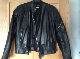 belstaff vintage black leather biker jacket excellent clean hardly worn cond motorbike motorcycle