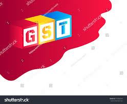 Gst For Design Services Vector Illustration Goods Services Tax Gst Stock Vector