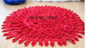 diy tshirt rug tutorial floor mat by using old dress creative ways to reuse recycle diy