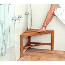 teak corner shower stool aqua teak shower bench chic teak corner shower bench the design shower