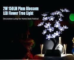 full size of led bonsai tree table lamp diy rose floor mini plum blossom flower light