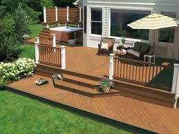 Designer Decks Made From Natural Wood, Composite and Aluminum