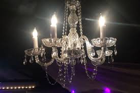 medium crystal chandelier